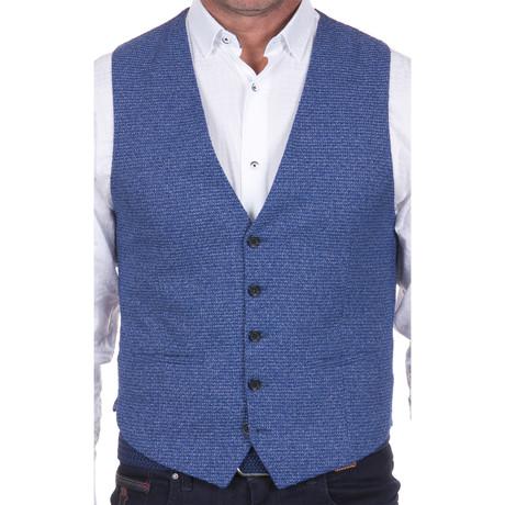 Woven Vest // Blue (S)