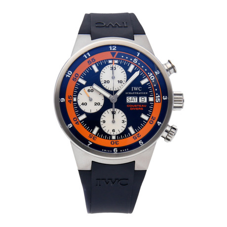 IWC Aquatimer Cousteau Divers Chronograph Automatic // IW3781-01 // Pre-Owned