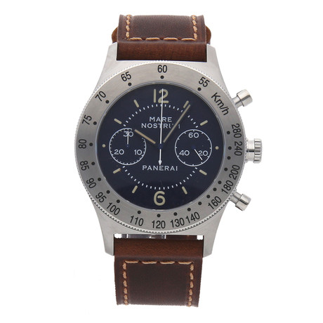 Panerai Mare Nostrum Acciaio Chronograph Manual Wind // PAM 716 // Pre-Owned