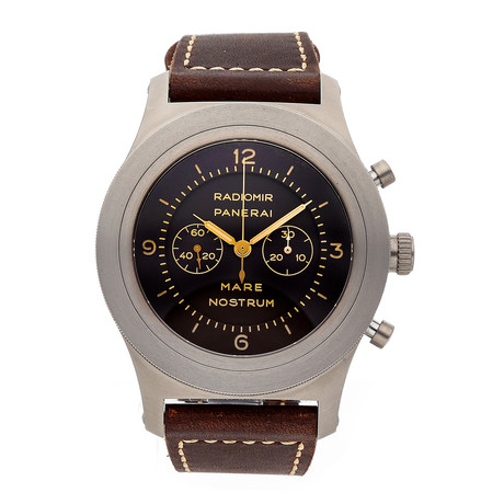 Panerai Mare Nostrum Titanio Chronograph Manual Wind // PAM 603 // Pre-Owned