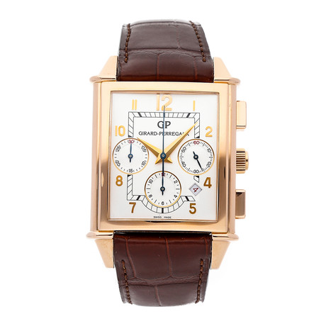 Girard Perregaux Vintage 1945 XXL Chronograph Automatic // 25480-52-111-BAED // Pre-Owned