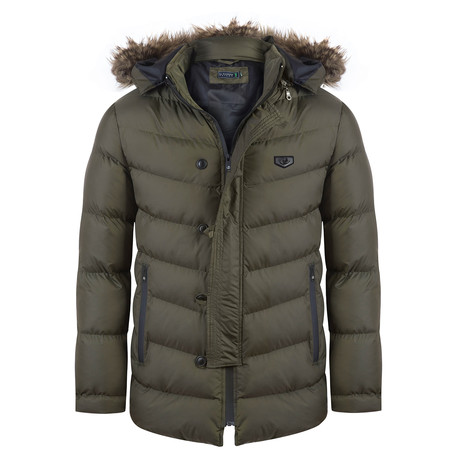Hairpiece Winter Jacket // Khaki (3XL)
