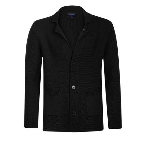 Fontana Knitwear Jacket // Black (M)