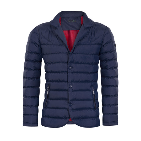 Bounce Autumn Coat // Navy (L)