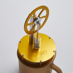 Ringborn Stirling Cycle Engine // Gold