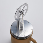 Ringbom Stirling Cycle Engine // Silver
