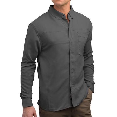 Men's TEC Shirt // Charcoal Gray (XS)