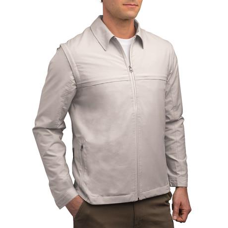 Men's Jacket // Beige (XS)