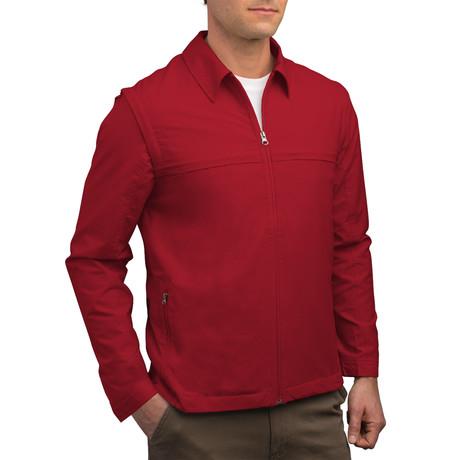 Men's Jacket // Red (XS)