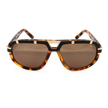 CZ884 Sunglasses // Black + Tortoise Gold