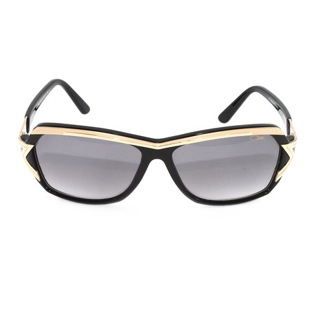 CZ8031 Sunglasses // Black + Gold