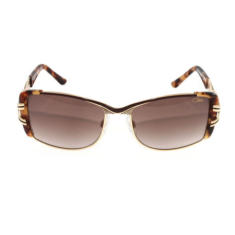 CZ9059 Sunglasses // Brown + Tortoise Gold
