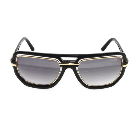 CZ9064 Sunglasses // Black + Gold