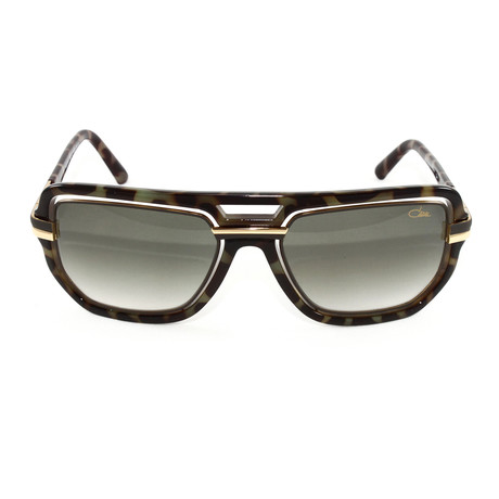 CZ9064 Sunglasses // Gray + Tortoise Gold