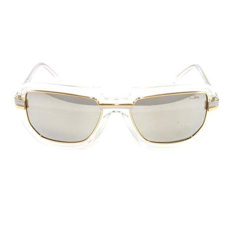 CZ9064 Sunglasses // Crystal Gold + Silver