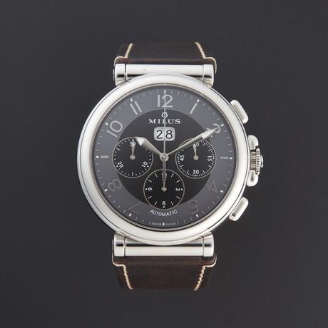 Milus Zetios Chronograph Automatic // ZETC001 // Store Display