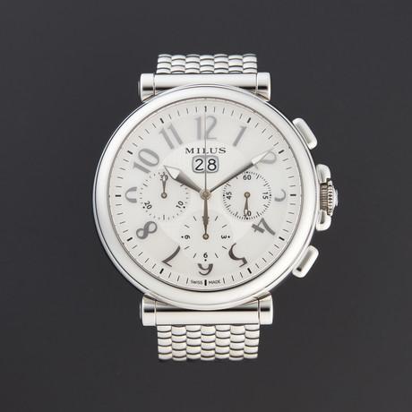 Milus Zetios Chronograph Automatic // ZETC021 // Store Display
