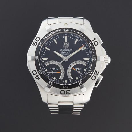 Tag Heuer Aquaracer Calibre S Chronograph Quartz // CAF7010 // Pre-Owned