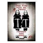 The Shining (Come Play With Us) // MightyPrint™ Wall Art // Backlit LED Frame