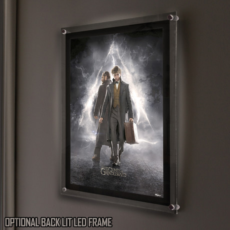 Fantastic Beasts 2 Mightyprint™ // Backlit LED Frame