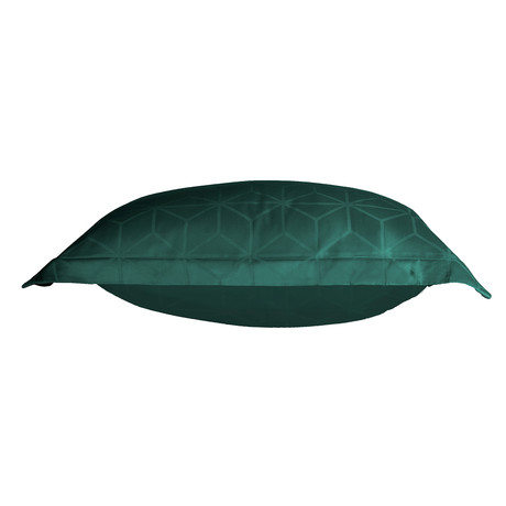 Skyscraper Pillowcase // Atlantic + Dark Green