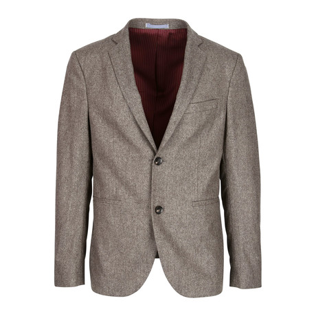 Janou Blazer // Brown Melange (XL)