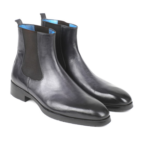 Chelsea Boots // Black + Gray (Euro: 37)