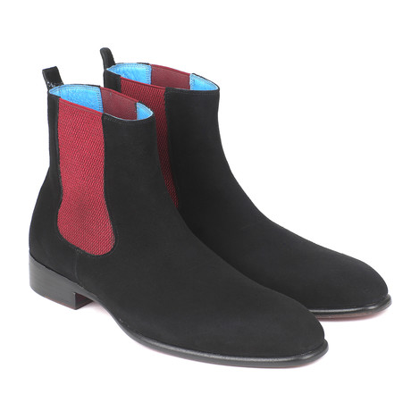Suede Chelsea Boots // Black (Euro: 37)