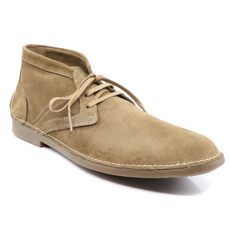 Alan Lace-Up Boots // Sand (Euro: 40)