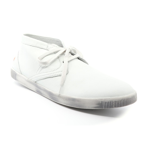 Tim Lace-Up Boots // White (Euro: 40)