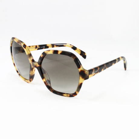 Women's PR06SS Sunglasses // Medium Havana