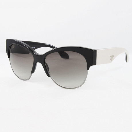Women's PR11RS Sunglasses // Black + Beige