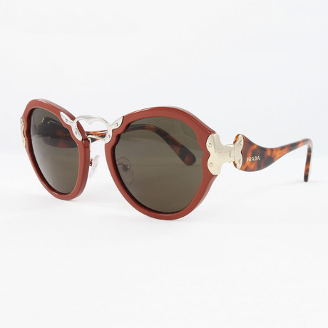 Women's PR09TS Sunglasses // Orange