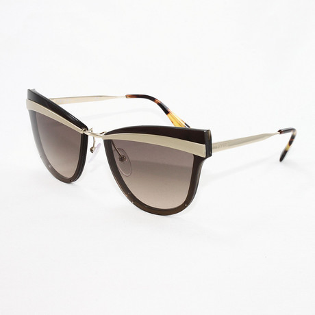 Women's PR12US Sunglasses // Sand Pale Gold + Brown