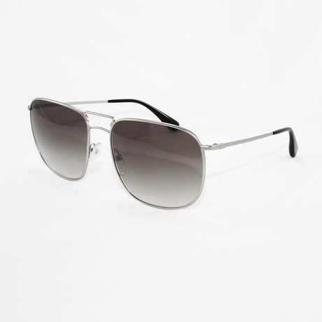 Prada // Women's PR52T Sunglasses // Matte Silver