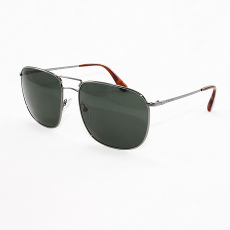 Prada // Men's PR52T Polarized Sunglasses // Lead