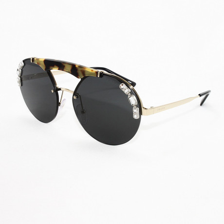 Women's PR52US Sunglasses // Pale Gold + Medium Havana