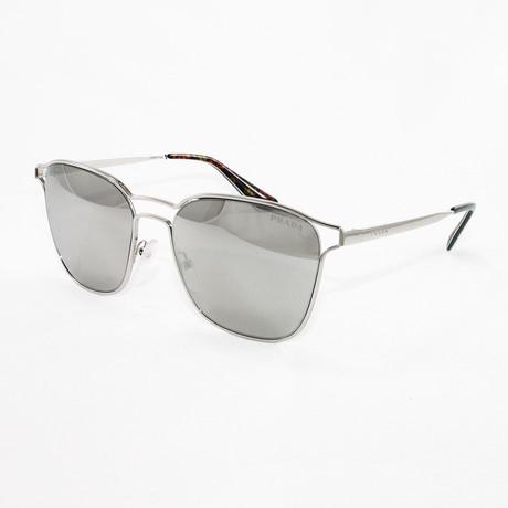 Prada // Women's PR54TS Sunglasses // Silver