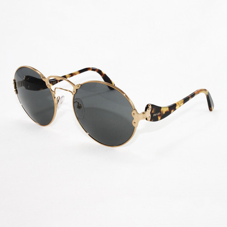 Women's PR55TS Sunglasses // Pale Gold