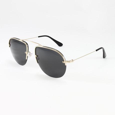 Men's PR58OS Sunglasses // Pale Gold