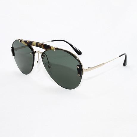 Men's PR62US Sunglasses // Medium Havana + Pale Gold