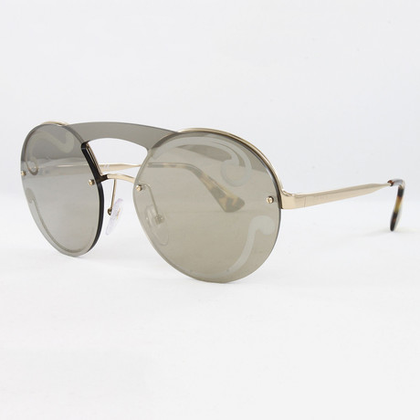Women's PR65TS Sunglasses // Pale Gold