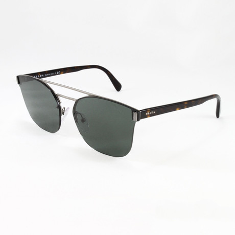 Prada // Men's PR67TS Sunglasses // Matte Brown