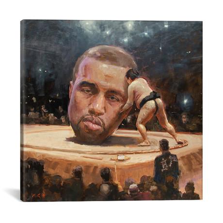 "Kanye Sumo // Tony Pro (18""W x 18""H x 0.75""D)"