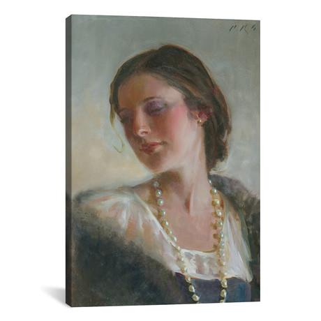 """Anna's Pearls // Tony Pro (26""""W x 18""""H x 0.75""""D)"""