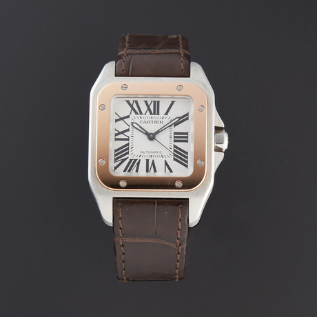Cartier Santos 100 Automatic // W20107X7 // Pre-Owned