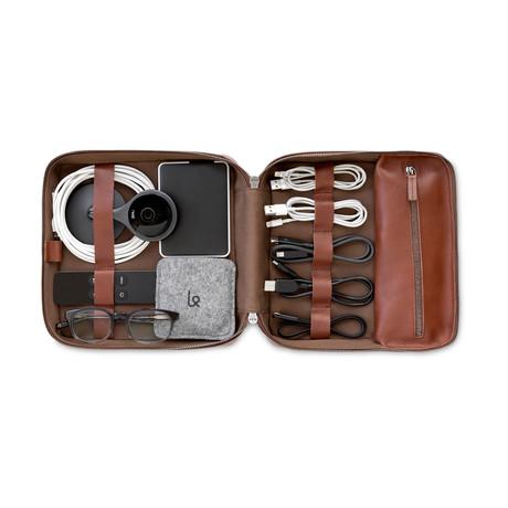 Tech Dopp Kit 2 // Grande (Cognac)