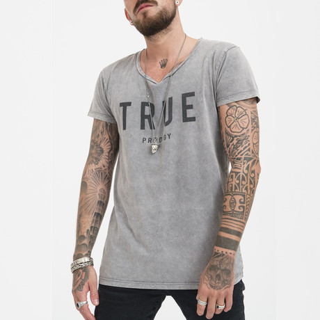 Damian T-Shirt // Dark Gray (XS)
