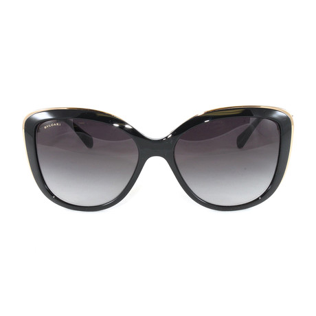 Bulgari // Women's BV6094B Sunglasses // Black