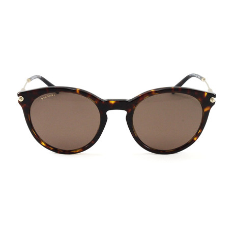 Bulgari // Men's BV7030 Sunglasses // Dark Havana